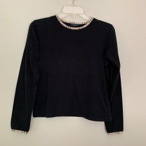 Burberry vintage long sleeve T-shirt